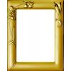 Gold Photo Frame - Ilustracje -
