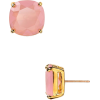 Gold. Pink357 - Earrings -