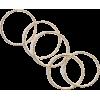 Gold Ring Set - Rings -