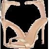Gold Sandals - Sandals -