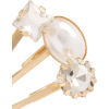 Gold Set of ten gold-tone faux pearl and - Uncategorized -