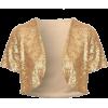 Gold Shrug - Bolero -