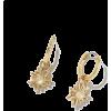 Gold. Sun - Earrings -