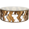 Gold. Table - Furniture -