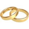 Gold Wedding Rings - Anelli -