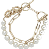 Gold. White. Pearl. - Bracelets -