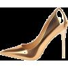 Gold - Classic shoes & Pumps -