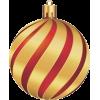 Gold and Red Ornament - Predmeti -