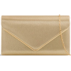 Gold clutch bag - Clutch bags -