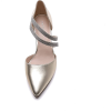 Gold diamante  court shoes pointed Toes - Classic shoes & Pumps -