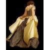 Gold dress model - Люди (особы) -