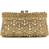Golden Deluxe Crystal Clutch - Clutch bags -