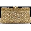 Golden Deluxe Crystal Clutch - Clutch bags -