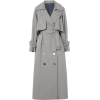Golden Goose Vela Wooldrill Trench Coat - Kurtka -