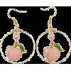 Golden Peach Earrings - Earrings -
