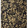 Golden and black botanical wallpaper - Illustrations -