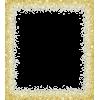 Gold glitter frame - Frames -