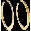 Gold hoop earrings - Earrings -
