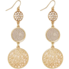 Goldtone earrings - Venus - Earrings -