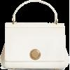 Grained Calfskin Leather Top Handle Bag - Hand bag -