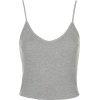 Gray topshop top - Tanks -