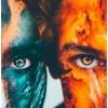 Green orange face - Pessoas -