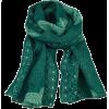 Green scarf - SilkRoad - Scarf -