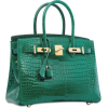 Green Alligator Bag - Borsette -