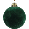 Green. Christmas tree toy. - Items -