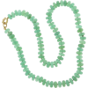 Green Chrysoprase Beaded Necklace - Necklaces -