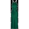 Green. Dress - Платья -