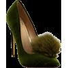 Green Pumps - Sandals -