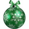 Green and White Ornament - Predmeti -