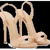 Green dress - Sandale -