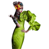 Green dress model - Personas -