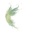 Green fairy wings - Animals -