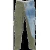 Greg Lauren Cotton Patchwork Trousers - Capri & Cropped - 1,878.00€  ~ £1,661.80