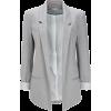 Grey Ponte Blazer Jacket - Suits - $70.00