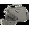 Grey. Bag. PRADA - Hand bag -