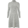 Grey Sweater Dress - Dresses -