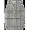 Grey - Skirts -