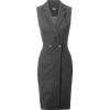 Grey formal dress - Dresses -