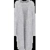 Grey knit cardigan  - Cardigan -