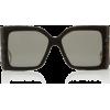 Gucci Acetate Oversized Square-Frame Sun - Óculos de sol -