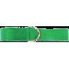 Gucci Belt Python Leather - green 1990 - Cinture -