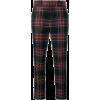 Gucci | Blue Tartan Wool Cropped Trouser - Capri-Hosen -