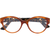 Gucci Eyewear round frame glasses - Eyeglasses -