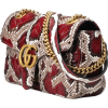 Gucci GG Marmont small python shoulder - Почтовая cумки -