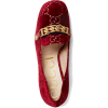 Gucci GG Supreme Velvet Loafer - Classic shoes & Pumps -