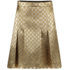 Gucci Gold Skirt - Skirts - $1,060.24
